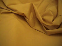 Mustard Polycotton Plain Bunting/Craft/Dress Fabric 112cm Wide SOLD BY THE METRE