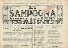 La Sampogna  Anno III n. 25 - 26