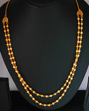 22k Carat  gold plated  chain elegant necklace sets fashion JEWELRY U15   26 in