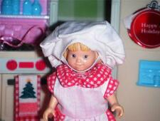 Christmas Kids Apron and Chef Hat fits Fisher Price Loving Family Dollhouse Doll