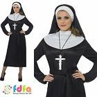 SISTER ACT RELIGIOUS HABIT NUN - UK 8-18 - womens ladies fancy dress costume