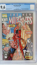 New Mutants #98 CGC 9.6 NM+  1st Appearance Deadpool