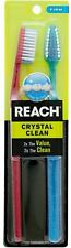 Reach Crystal Clean Full Head Firm Toothbrush, 2 Count