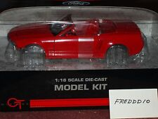 2004/05 FORD MUSTANG CONCEPT CONVERTIBLE RED ASSEMBLY KIT 1/18 NICE CAR!!