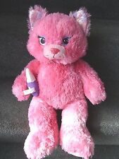 """Build a Bear Pink Sparkle Purrincess Kitty Cat 16""""  Limited Edition"""