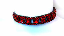GOTHIC LOOK BLOOD RED CHOKER flexible/adjustable.Great Gift.Spicy and devilish!