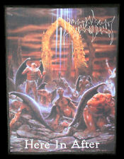 Immolation - Here In After (USA), Backpatch
