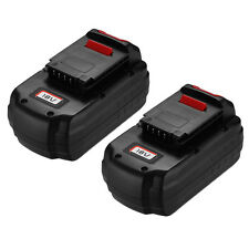 2(Two) For PORTER-CABLE PC18B 18-Volt 3.0Ah NiCd Cordless Battery Pack PC18