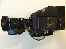 "SONY DXC-325P BROADCASTING CAMERA WITH CANON MACRO 1/2"" TV ZOO LENS"