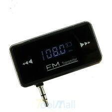 Mini Car Wireless FM Transmitter Car Kit for MP3 MP4 iPod Music Player Cellphone