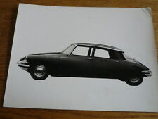 "CITROEN DS 19 PRESS RELEASE PUBLICITY/PRESS PHOTO/ ""CAR BROCHURE"" 1958"