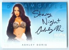 "ASHLEY DORIS ""INSCRIPTION AUTOGRAPH #1/5"" BENCHWARMER DREAMGIRLS PREVIEW 2016"