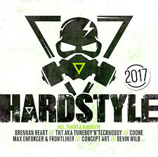 CD hardstyle 2017 di Various Artists 2cds