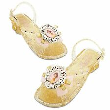Disney Store Princess Belle Light Up Costume Shoes Size 9/10 Beauty & The Beast
