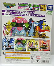 1/40 Real Pokemon Figure XY 03 Complete 4pcs - Takara Tomy ARTS  h#1