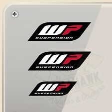 PEGATINA KIT WP SUSPENSION VINILO VINYL STICKER DECAL AUFKLEBER ADESIVI