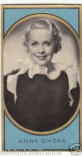ANNY ONDRA ACTRESS ACTRICE CZECH TCHÉQUIE GERMANY DEUTSCHLAND IMAGE CARD 30s