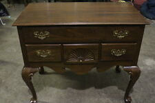 Vintage Ethan Allen Low Boy Dresser or Console Solid Cherry - Signed -