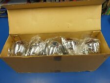 LOT OF 10 CHROME 12 VOLT RED BULLET LIGHT HARLEY & CUSTOM CHOPPERS TURN SIGNALS