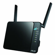 Asus 4G-N12 4G/LTE Wireless 300bps Mobile Broadband Router with 4 Ethernet Ports