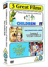 Five Children And It / Because Of Winn-Dixie / The Sandlot kids  3 DVD BOX  NEW