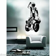 MAX BIAGGI Wall Art 02 motorcycle racer Decalcomania Grafica Adesiva Unica