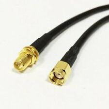 1pc RP SMA male to RP SMA female pigtail cable RG58 100cm for wireless router N