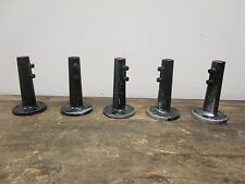 Lot of 5 Singer SLF-2 Industrial Sewing Machine Table Light Bases