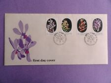 1976 FDC Singapore First Day Cover - Orchids Special Stamp Issue