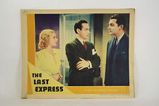 The Last Express - Universal Crime Club 1938 Orginial Window Card Movie Poster