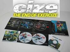 New ClZE Dance Workout 6 DVD The End of Exercise + Weight Loss Series