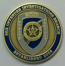 "USMS United States Marshals Service Sex Offender Investigations Branch 2"" Coin"