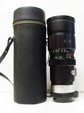 SOLIGOR 75-260mm FD LENS . EXCELLENT CONDITION. NEEDS CLEANING.