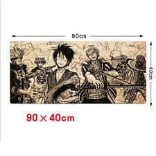 900*400mm ONE PIECE Rubber Speed Game Mat Mouse Pad Computer Mice Keyboard Mat'