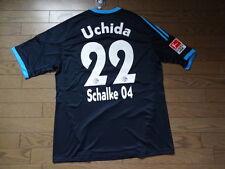FC Schalke 04 #22 Atsuto Uchida 100% Official Jersey 2010/11 Away BNWT XL Japan