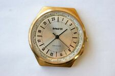 SOVIET RARE RELOJ RAKETA РАКЕТА 24 HOURS EXPLORADOR POLAR RUSIAN MILITARY WATCH
