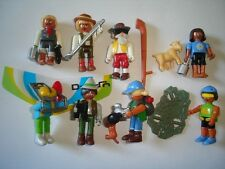 KINDER SURPRISE SET - TRIP TO THE MOUNTAINS PEOPLE 2001 TOYS FIGURES MINIATURES
