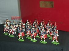 BRITAINS 43041 RAF LEUCHARS PIPE + DRUM BAND METAL TOY SOLDIER FIGURE SET
