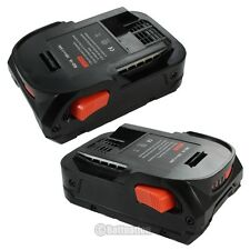 2 x 18V Slim Lithium-Ion Power Tool Battery for 18 Volt RIDGID AC840085 R840085