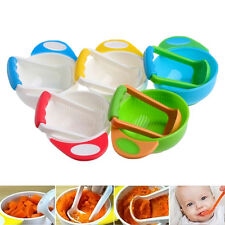 Baby Infant Food Fruit Vegetable Manual Grinder Bowl Set Mill Blender Masher Kit