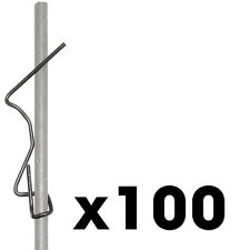 "100 box 2x4"" Wire Screed Hooks Concrete Forms Screed Post slab curb patio inch"