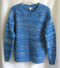 GAP Womens Blue Cotton Sweater Size Small Tweed