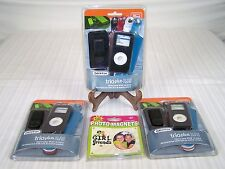 SET OF 3 GRIFFIN TRIO PLUS IPOD NANO COVERS AND LOCKER PHOTO MAGNET
