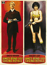 007 CASINO ROYALE MANIFESTO PETER SELLERS DAVID NIVEN ORSON WELLES LAVI ALLEN
