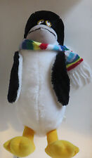 "Seaworld 18"" Plush Penguin Stuffed Aaimal Doll W/ Scarf 1982"