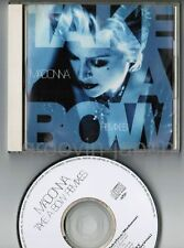 "MADONNA Take A Bow Remixes JAPAN 8-track 5"" CD SINGLE WPCR-191 w/PS Free S&H/PP"