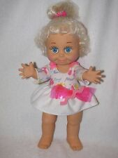 "12"" Galoob Baby Face So Sweet Sandi Doll #1 1990"