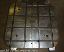 "31.5""x31.5"" HMC Pallet Steel T-Slotted Table Cast ironT-Slot Horizontal Machine"