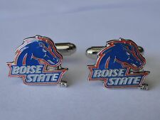 Boise State University Cufflinks NCAA Broncos