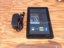 Amazon Kindle Fire 8GB, Wi-Fi, 7in - Black - Read Description